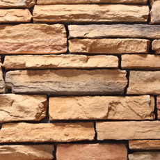 Stacked Ledgestone - Sunset
